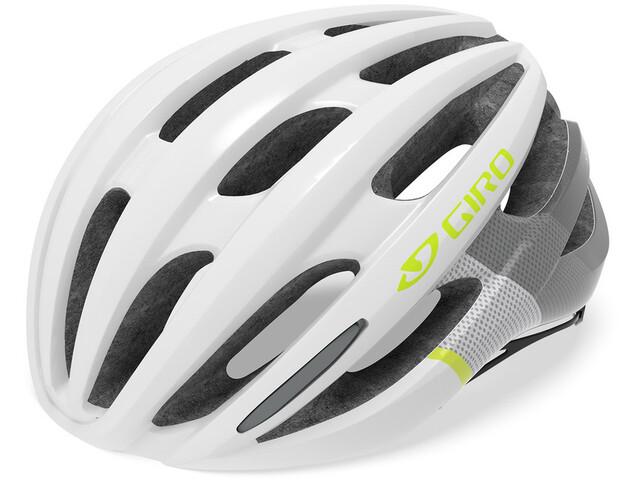 Giro Saga MIPS Helmet Damen matte white/citron